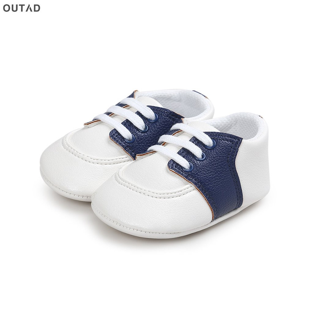 Spring Summer PU Leather Newborn Baby Shoes Toddler First Walkers Slip-on Anti-slip Soft Soled Shoes for Infant Boys Girls New