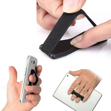 8cf5dafcf3 Titular Dedo Telefone Universal Sling Plástico Aderência Anti Derrapante  Suporte para Tablet Celular para Samsung para O Iphone
