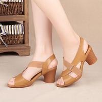 Women Sandals Summer Shoes High Heels Buckle Strap Ladies Classic Sandals Female Fashion High Heels