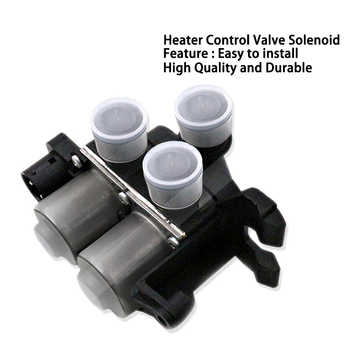 Car Heater Control Valve Solenoid For For BMW E36 318 323 325 328 M3 OEM 64118375792 64111387319 64118391419 Water Control Valve