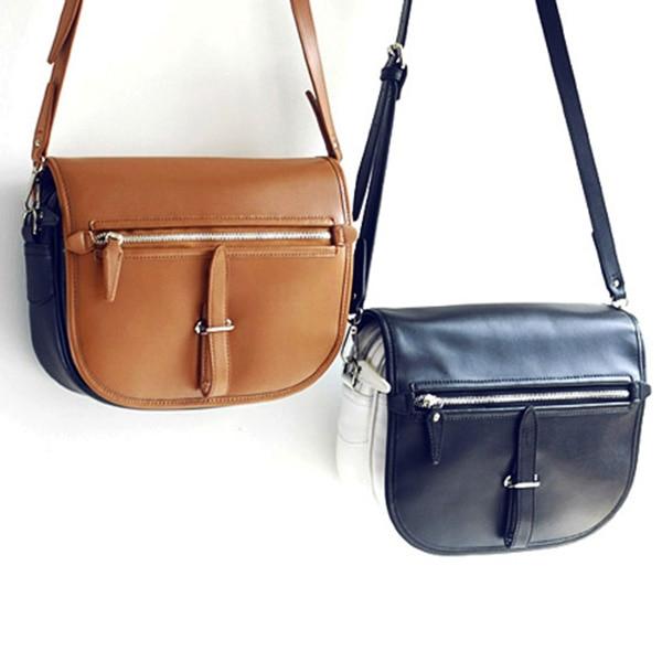 EMMA YAO leather women's handbag fashion ladies messenger bag genuine leather handbag