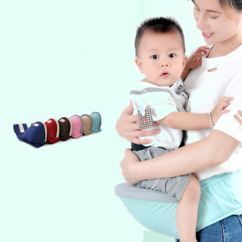 Baby Carrier Waist Stool Walker Adjustable Infant Multifunction Front Carrier Backpack Sling 3D Mesh Breathable Travel Seat Belt