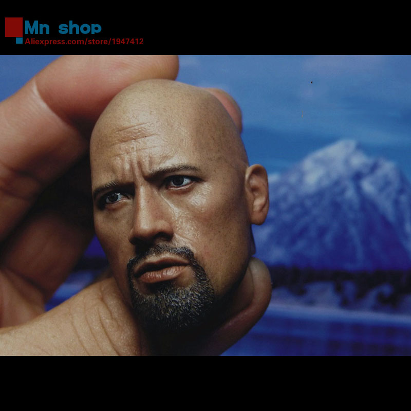 1/6 Scale BELET speed and passion Detective Dwayne Johnson Mighty Eagle Head BT013 Fit 12Collectible Doll Toys Accessories mick johnson motivation is at
