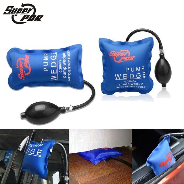 Super PDR tools PUMP WEDGE LOCKSMITH TOOLS Auto Air Wedge Airbag Lock Pick Set Open Car Door Lock S M Size 2pcs/lot