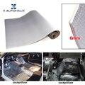 X AUTOHAUX 236mil 6 мм Толщина толстого глинозема волокна + глушитель хлопок длинный Авто тепло звук Deadening изоляция демпфирующий коврик
