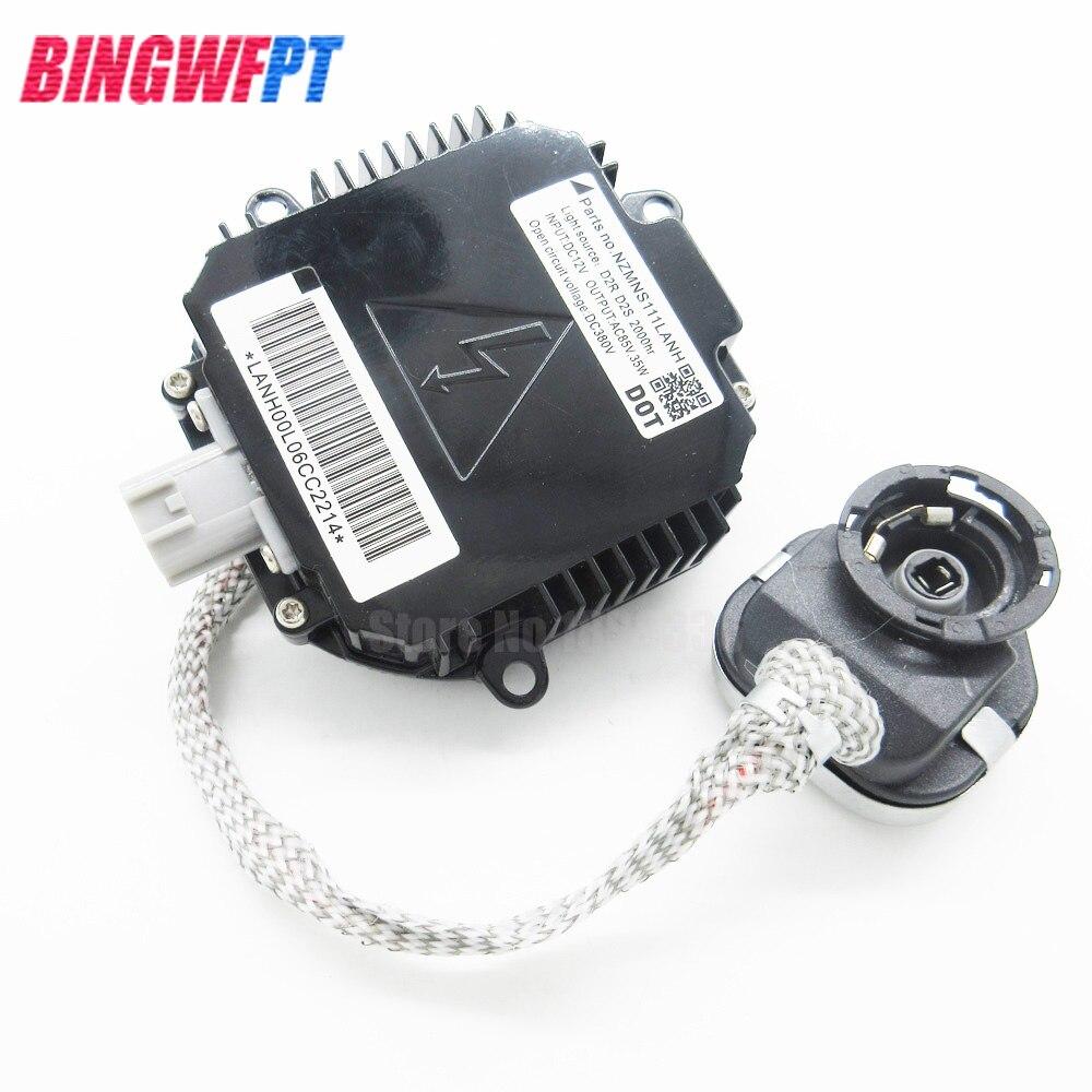 Xenon HID Ballast Unit Control D2S D2R LENA00L9NHA6454 For Matsushita Nissan Infiniti Renault For VW Mazda