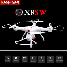 Hot Sale Syma X8SW RC Drone WIFI FPV With 720P HD Camera 2.4G 4CH 6Axis Altitude Hold Mode 2 RC Quadcopter RTF