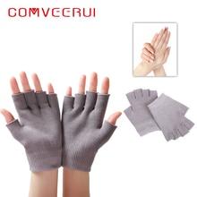 1 пара спа-гель перчатки маска для рук Спа-Гель Супер успокаивающие увлажняющие перчатки увлажняющий, питательный полуперчатки инструмент эфирного масла
