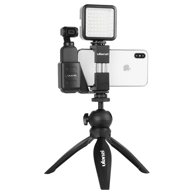 Ulanzi OP-1 Osmo Pocket Accessories Mobile Phone Holder Mount Set Fixed Stand Bracket for Dji Osmo Pocket Handheld Cameras