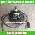 1 unids E6B2-CWZ1X 360 P/R codificador de Omron/360 línea de codificador rotatorio óptico/incrementales pequeños motores codificador