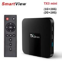 10pcs TX3 mini Smart TV BOX 1GB 8GB 2GB 16GB Android 7 1 Quad Core Amlogic