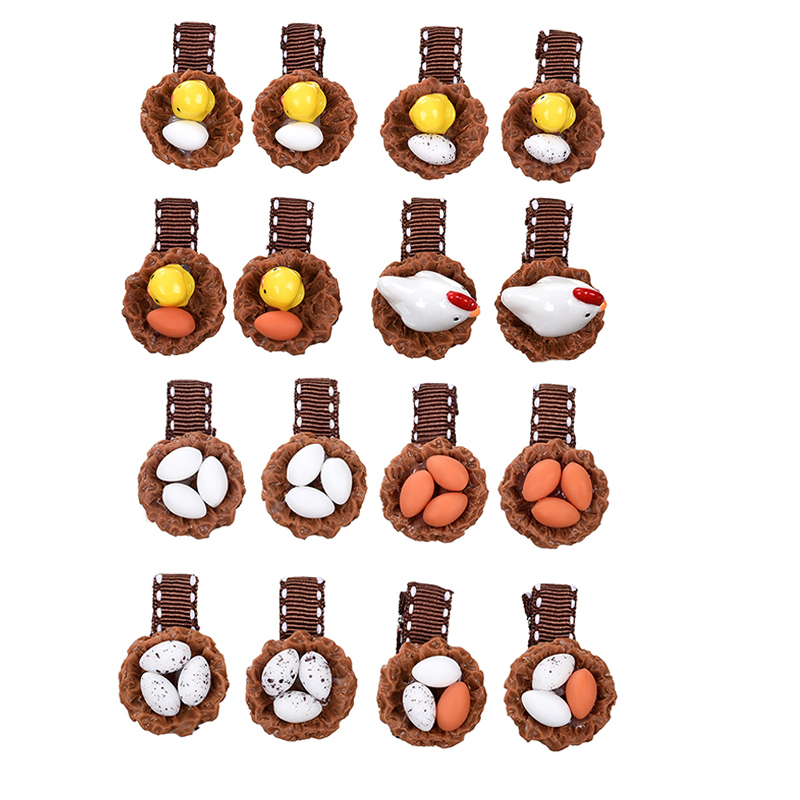Funny Poached Egg Hair Accessories For Girls Kids Korean Fashion Hair Jewelry Bronze Hair Pins Mom And Daughter Jewelry Nfq05 Hair Jewelry Jewelry Sets & More