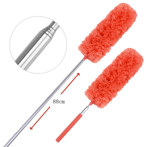 Image 5 - Soft Microfiber Cleaning Duster Brush Dust Cleaner can not lose hair Static Anti Dusting Brush Household Cleaning Tools