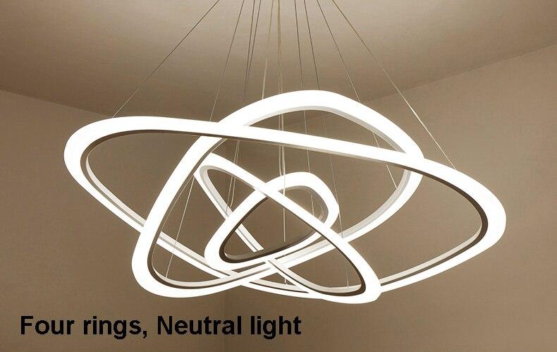 HTB1PpuFcSCWBuNjy0Fhq6z6EVXak New Modern pendant lights for living room dining room 4/3/2/1 Circle Rings acrylic LED Lighting ceiling Lamp fixtures