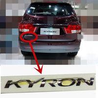 Genuine Rear Trunk Tailgate Logo Emblem For SSANGYONG KYRON Rear Trunk Lid Logo Emblem badge 7991009101