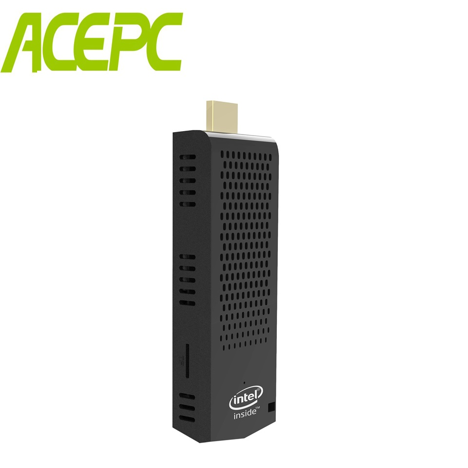 T6 Pro Fanless MINI PC Stick PC Intel atom Z8350 quad core 4K 1.44GHz 2G/32G 4 GB/64 GB Windows 10 2.4/5.8G WIFI Computer Stok PC-in Mini-pc van Computer & Kantoor op AliExpress - 11.11_Dubbel 11Vrijgezellendag 1
