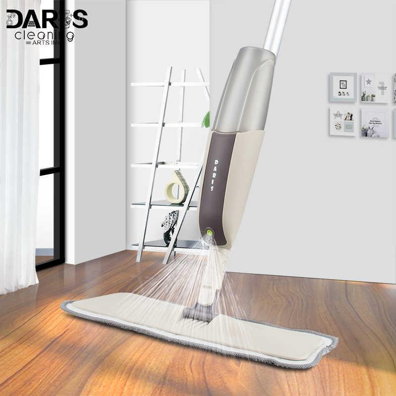 Spray Mop With Reusable Microfiber Pads
