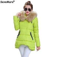 Women Winter Parka Womens Winter Jackets Womens Parka Fur Hooded Long Winter Jacket Womens Down Jackets Winter Outerwear Women