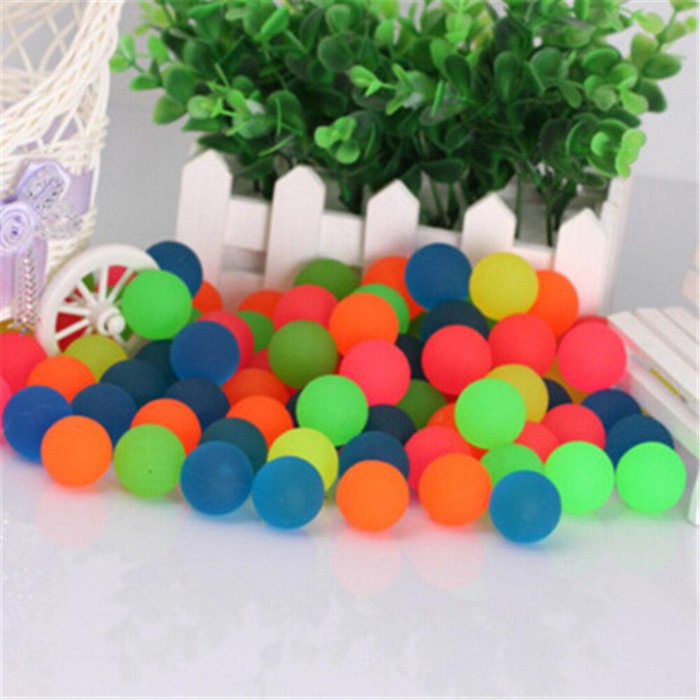10pcs/lot Children Toy Ball Luminous Boy Bouncing Ball Rubber Outdoor Toys Kids Sport Games Elastic Juggling Jumping Balls