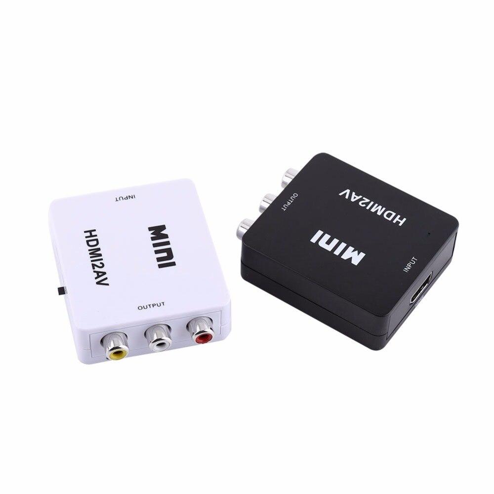 Numérique HDMI à RCA Composite Vidéo Audio AV CVBS Adaptateur Convertisseur 720 p/1080 p HDMI2AV