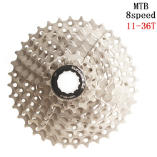 SUNSHINE-SZ MTB Mountain Bike 8s 24s 8Speed 11-36T Cassette WIDE RATIO Freewheel Sprockets for Bicycle Parts