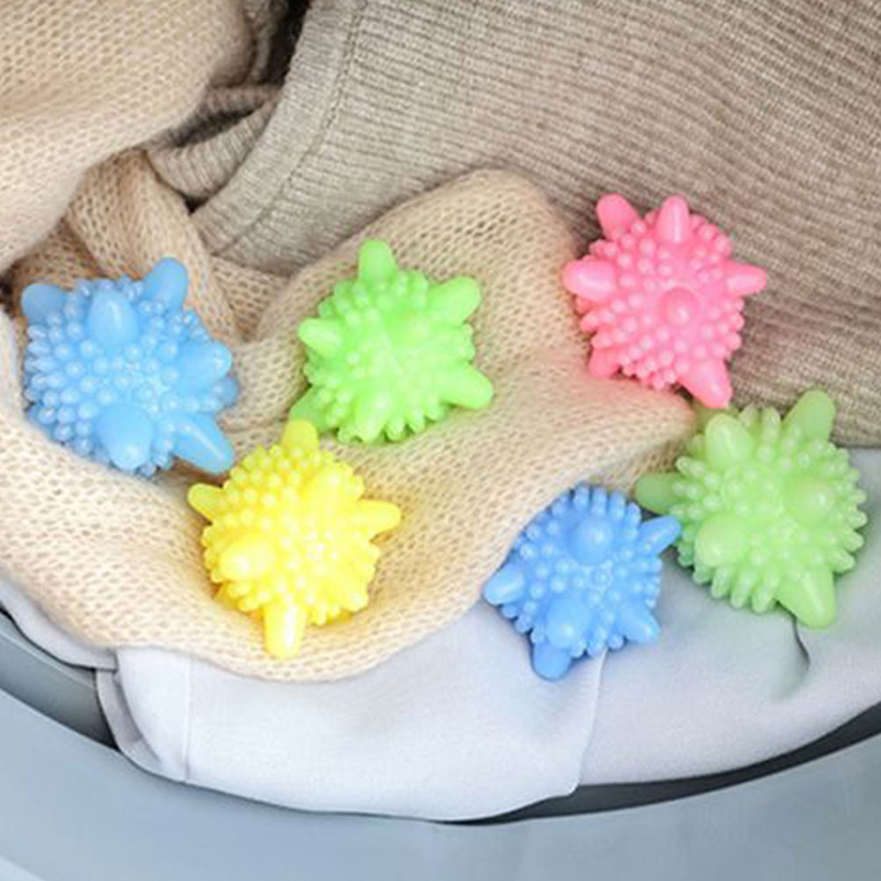 1PC Magic Clothing Wash Ball For Household Cleaning Washing Machine Clothes Softener Starfish Shape Solid Laundry