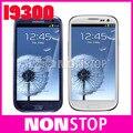 """Разблокирована Оригинальный SIII Samsung Galaxy S3 i9300 3G GSM Android четырехъядерные процессоры мобильный телефон Galaxy 4.8 """"8MP WIFI GPS Восстановленное"""