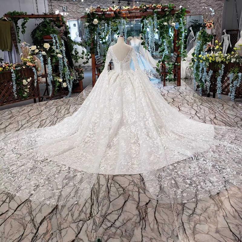 HTL455, takich jak białe suknie ślubne z ślubne z długim rękawem szal z dekoltem w kształcie litery v suknia balowa z aplikacjami koronkowe suknie ślubne 2019 suknia slubna