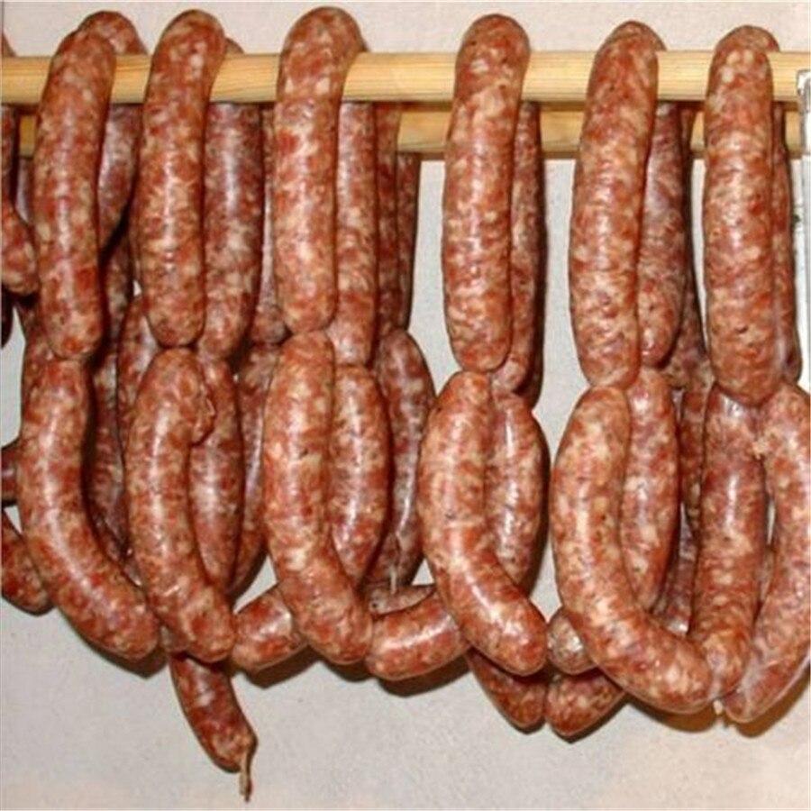 Best selling!! 16 meter/piece salsicha invólucro calibre 38mm, tampa salsicha, presunto invólucro, casa fazer salsicha shell frete grátis