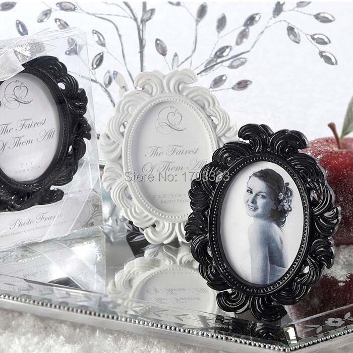 50 teile/los Viktorianischen Stil White & Black Barock Bild/Foto ...