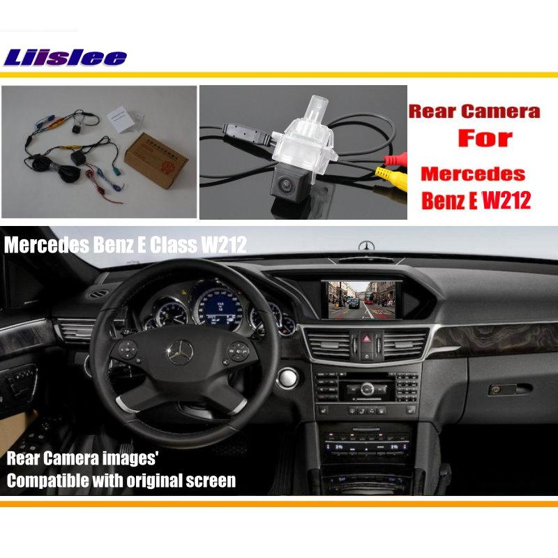 Liislee Car Parking Reverse Camera For Mercedes Benz E Class W212 2010 2015 Rearview Back Camera