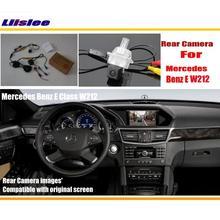 For Mercedes Benz E Class W212 2010~2015 / Car Rear View Back Up Reverse Camera Sets / RCA & Original Screen Compatible стоимость