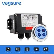 シンプルなデザインのラウンド型ジェットバス水ポンプマッサージ制御システムジェットバスアクセサリーコントロールパネル