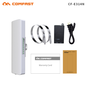 Image 5 - Hot comfast 2 3KM 2.4Ghz&5.8Ghz 150~300Mbps Outdoor wireless bridge CPE router wi fi signal amplifier booster extender repeater