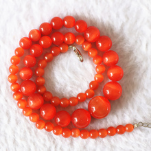 Newly multicolor cat eyes stone 6-14mm hot round beads diy fashion Jewelry necklace making 18″B622