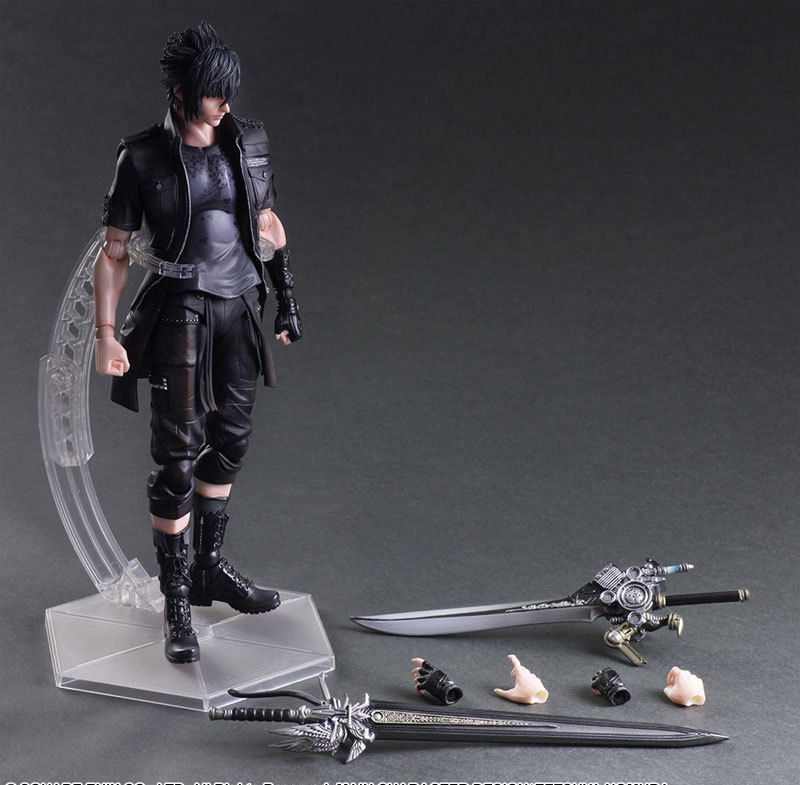 Play Arts Final Fantasy Figure Final Fantasy XV Noctis Lucis Caelum Figure PA 27cm PVC Action Figure Toys Play Arts Kai Figure