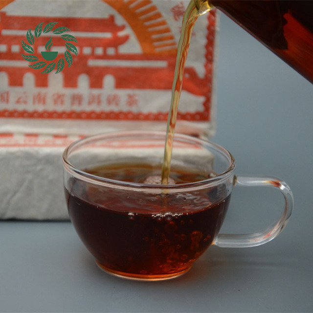 The old pu-er More Than 30 Years Old PUER Puerh Pu er Tea Made in 1984 year Tea Pu erh Pu'er Brick 500g Lose Weight tea `