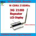 LCD 3G Repetidor + Antena Interna! WCDMA 2100 MHz Sinal De Celular Booster, 3G Cell Phone Signal Booster Móvel Repetidor Amplificador