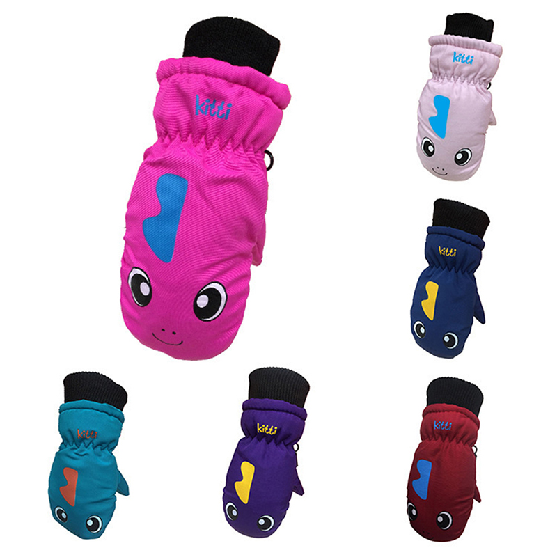 Motivated 1 Pair Children Winter Warm Ski Gloves Boys/girls Sports Waterproof Windproof Non-slip Snow Mittens Extended Wrist Skiing Gloves Products Hot Sale Sports & Entertainment Sports Clothing