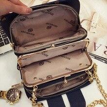 Yeni han baskı moda kadın çantası cep paket zincir Crossbody çanta XY322