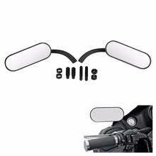 Motorcycle Cafe Racer Rearview Mirror For Harley Electra Road Glide Dyna Softail Sportster Cruiser Chopper Bobber Accessories цены