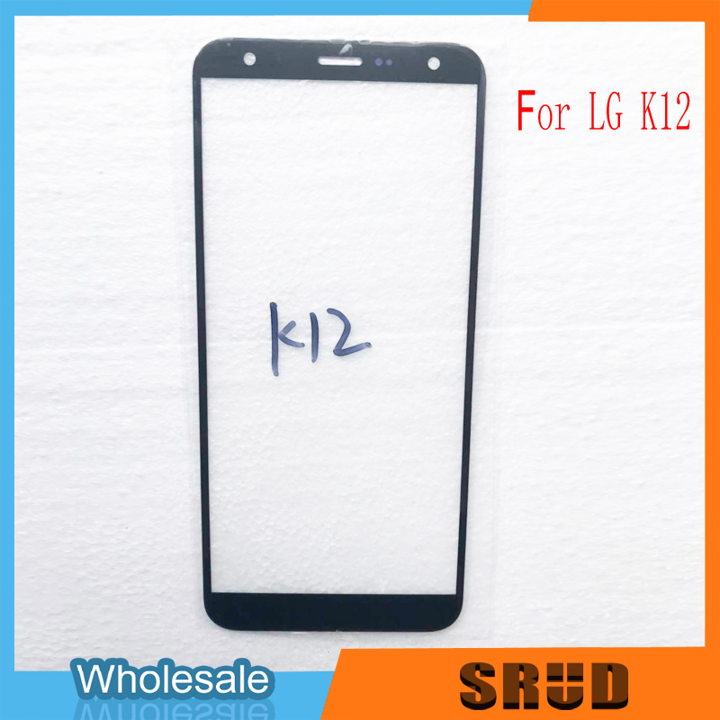 OCA Laminated Outer Glass For LG K40 K12 K12 Plus <font><b>K12Plus</b></font> X4 2019 LMX420EMW image