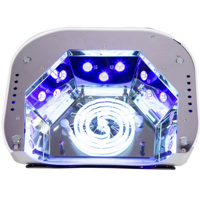 48W Polish Machine UV Lamp Nail Dryer LED Nail Lamp Hybrid For Curing Nail Gel With