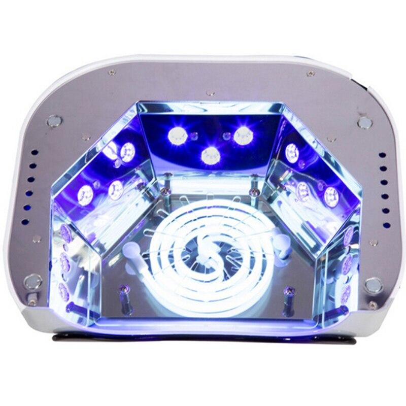 Machine de polissage 48 W lampe UV sèche-ongles lampe LED pour ongles hybride pour le traitement du Gel d'ongle avec des outils automatiques d'art d'ongle de capteur