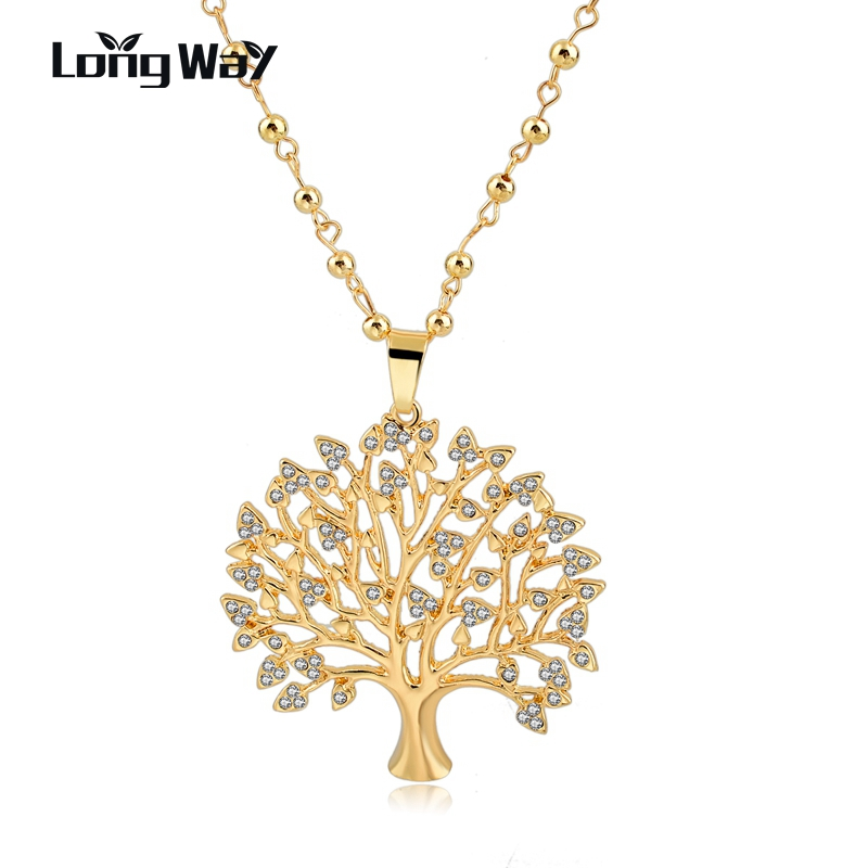Aliexpress.com : Buy LongWay Long Necklaces Tree Of Life ...