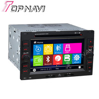 Black WANUSUAL 6 Inch Car DVD GPS For VW Passat Polo Golf With Stereo Video 16Gb