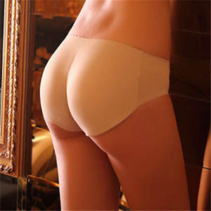 Sexy Padded Panties Seamless bottom Panties Buttocks Push Up Lingerie Women's Underwear Good quality Butt lift Briefs solid pant