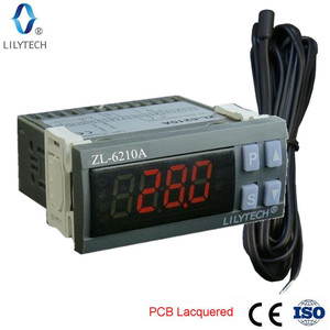 Image 2 - ZL 6210A, Digital, controlador de temperatura, termostato, controlador de almacenamiento en frío económico, Lilytech