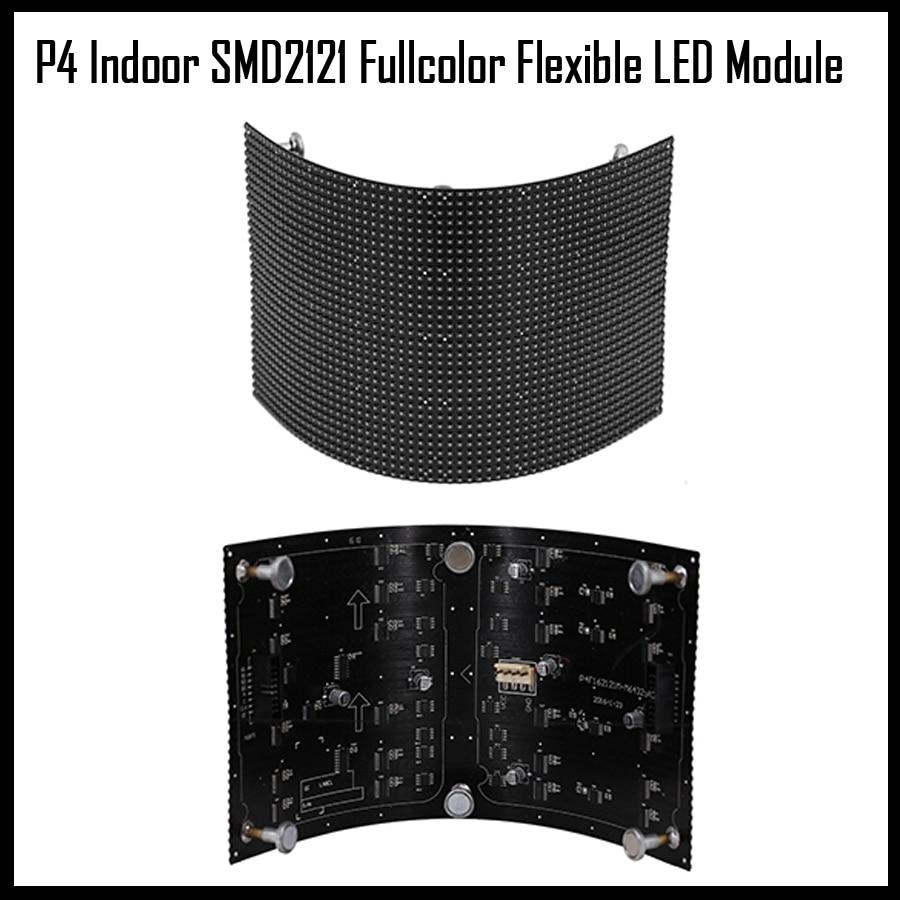 P4 Indoor Fullcolor Flexible Led Module 64x32pixel