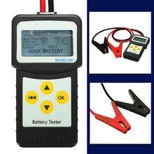 JX-LCLYL 12 В Цифровой автомобиль Батарея тестер авто автомобиль Батарея анализатор AGM гель MICRO-200